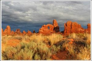 arche-dans-désert-du-Moab-voyage-famille-ouest-américain