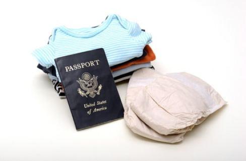 voyage enfant bébé papiers