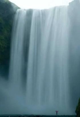 cascade skogar en islande