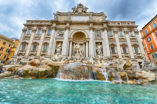 Rome avec des enfants Fontaine-Trevi-en famille