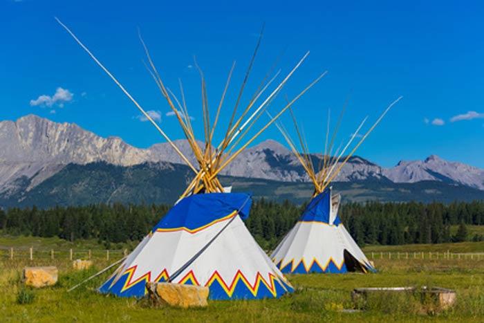 voyage au canada en famille tipi-