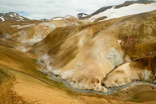 randonnée kerlingarfjöll-hvedallir-islande