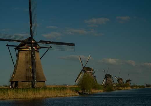 moulins-kinderdjik-hollande