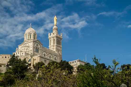Basilique  Marseille notre-dame-de-la-garde