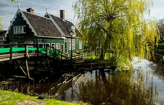 Zaanse-Schans-maison-hollande