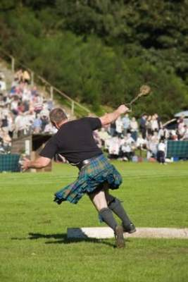 Highland Games écossais