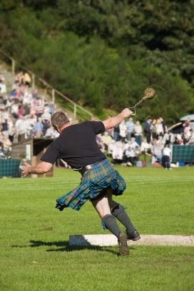 Highland Games écossais