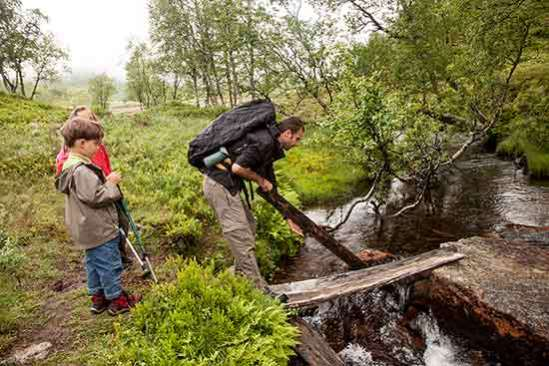 randonne-famille-norvège