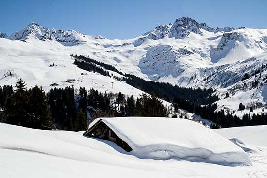 chalet-beaufortain-neige