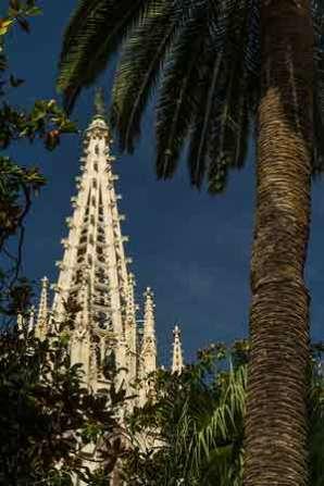 cathédrale-barcelone en famille