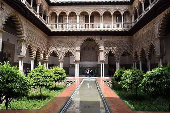 Séville-alhambra-alandalousie