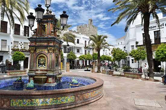 Séville-andalousie-fontaine