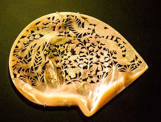 musée-de-l'Orient-lisbonne-coquillage-sculpté