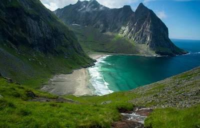 plage-de-klavika-lofoten-norvege