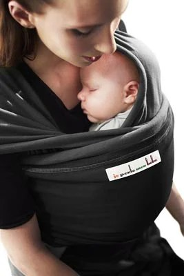 écharpe de portage élastique je porte mon bébé