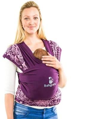 Echarpe de portage pour bébé