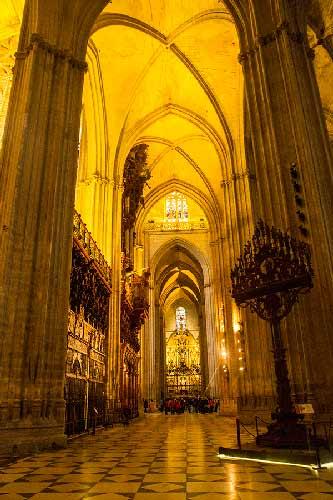 nef-Cathédrale-Séville-Andalousie