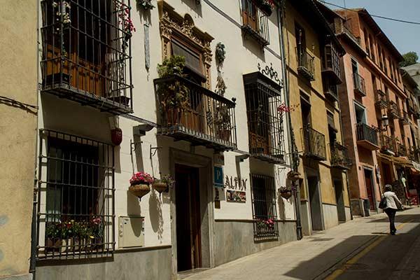 ruelle-Grenade-Andalousie-Espagne