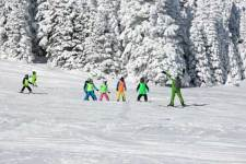 -ski-avec enfants station-alpes