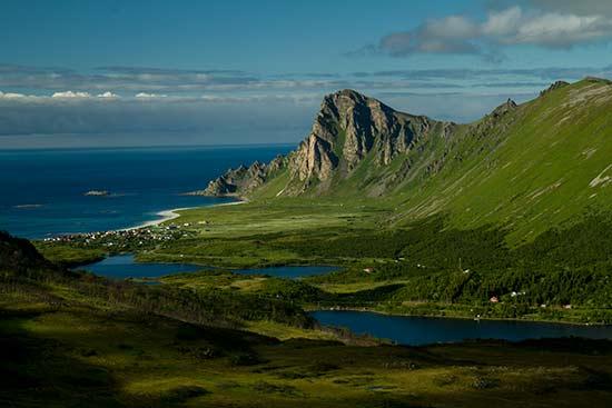 randonnée-en-Laponie-mer