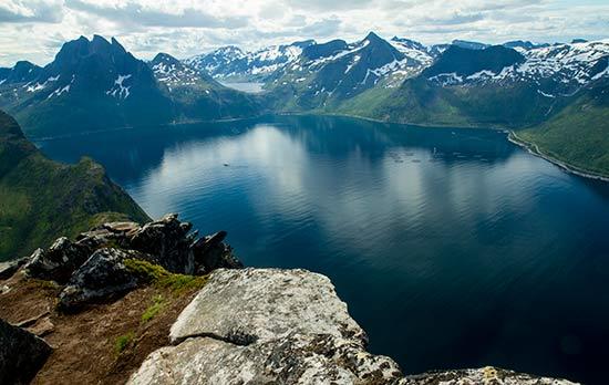 randonnée-en-laponie-fjord