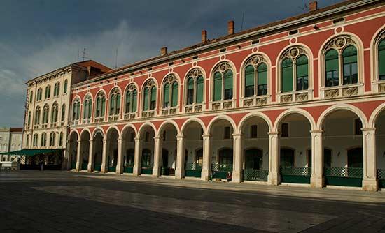 Split-Croatie-place