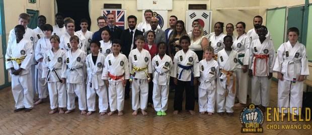 July Colour Belt testing 2019