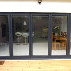 Double Glazed Kitchen Doors 1950s Appliances Bifold And Skylight Installation In Southgate, North ...
