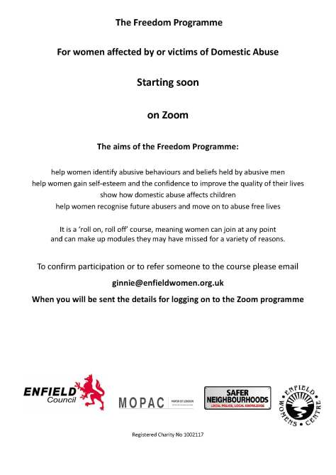 Poster of the Freedom Programme