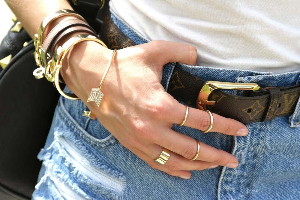 French Girls Hermes bracelet