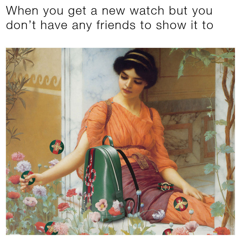 Meet the cool kids behind the epic Gucci memes