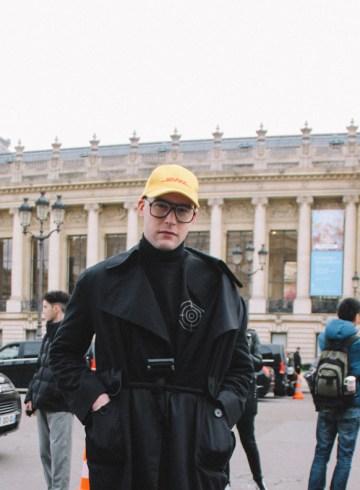 LOOK 25: All Black Look ( Paris)