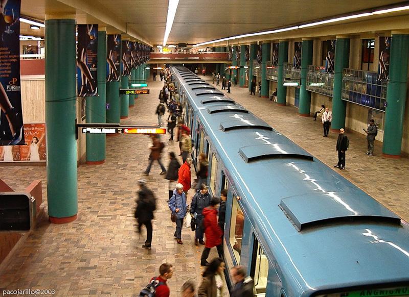 Parada de metro II