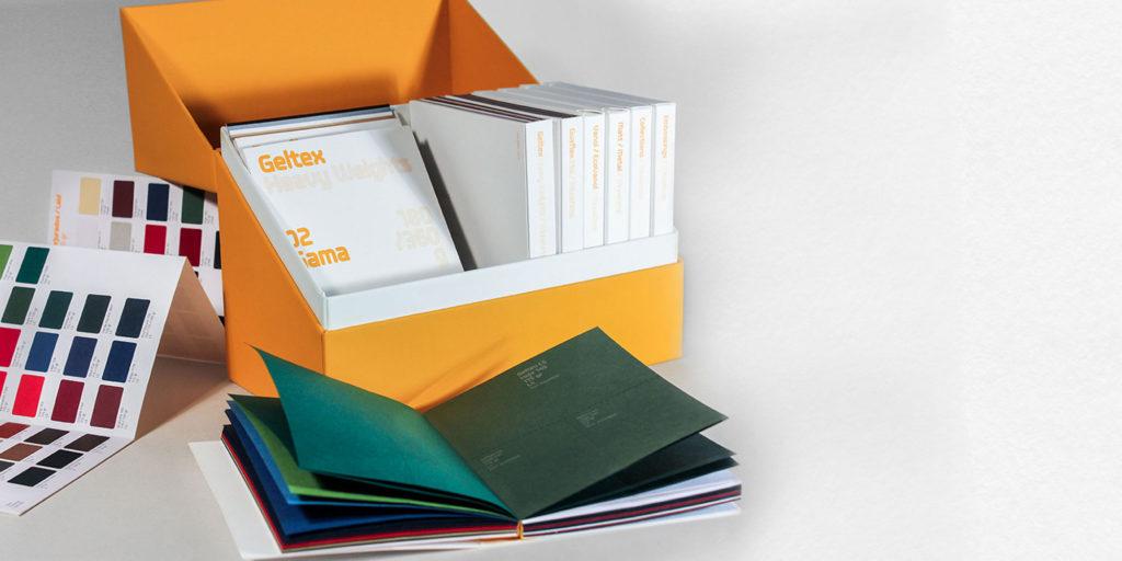 Catálogo de la marca de papel Guarro Casas