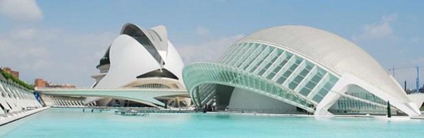 Resultado de imagen para la ciudad de las artes y de las ciencias en valencia (españa)