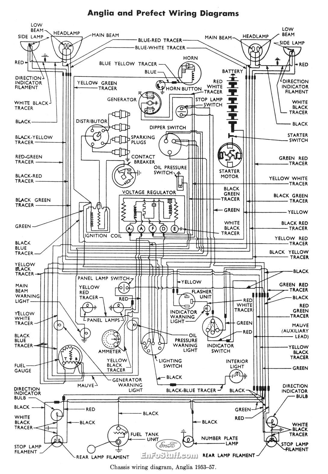 1953 ford f100 wire diagram
