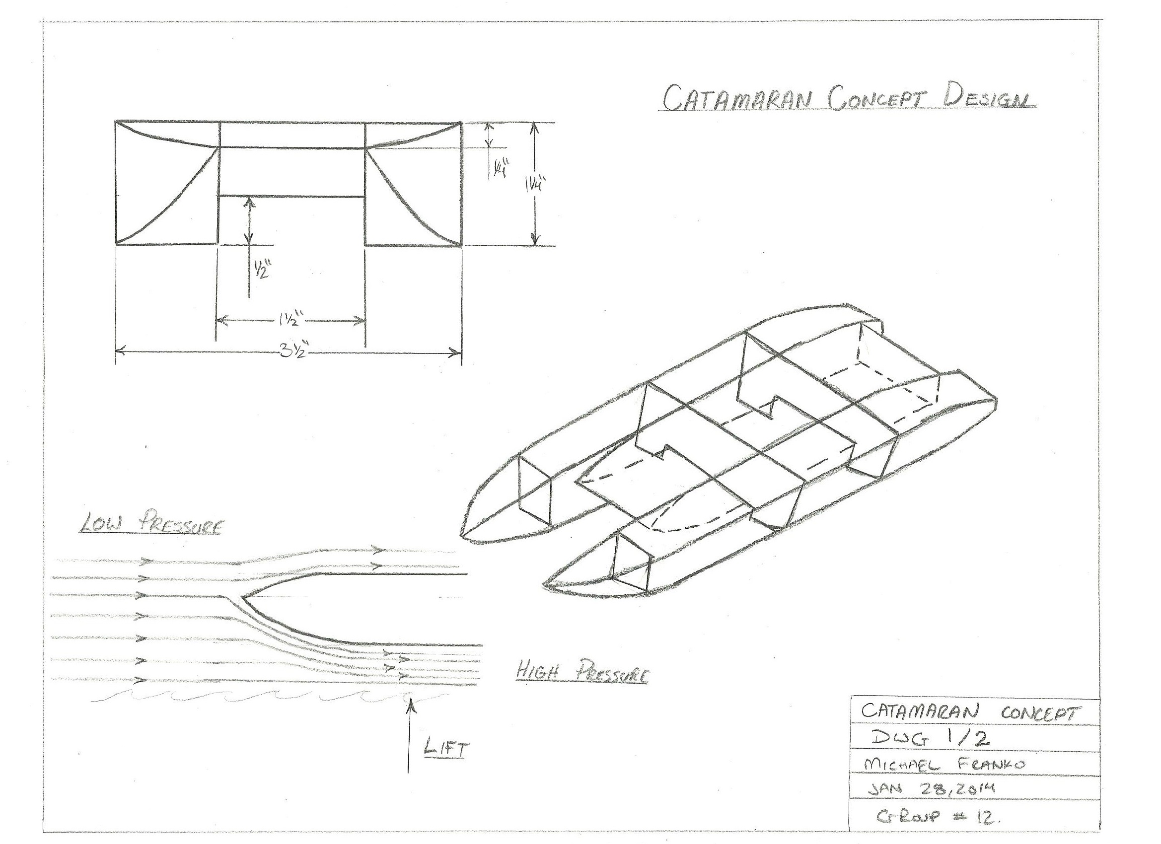 Catamaran Plans Free Download 14
