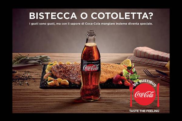 CocaCola lancia la campagna De Gustibus tutta Made in