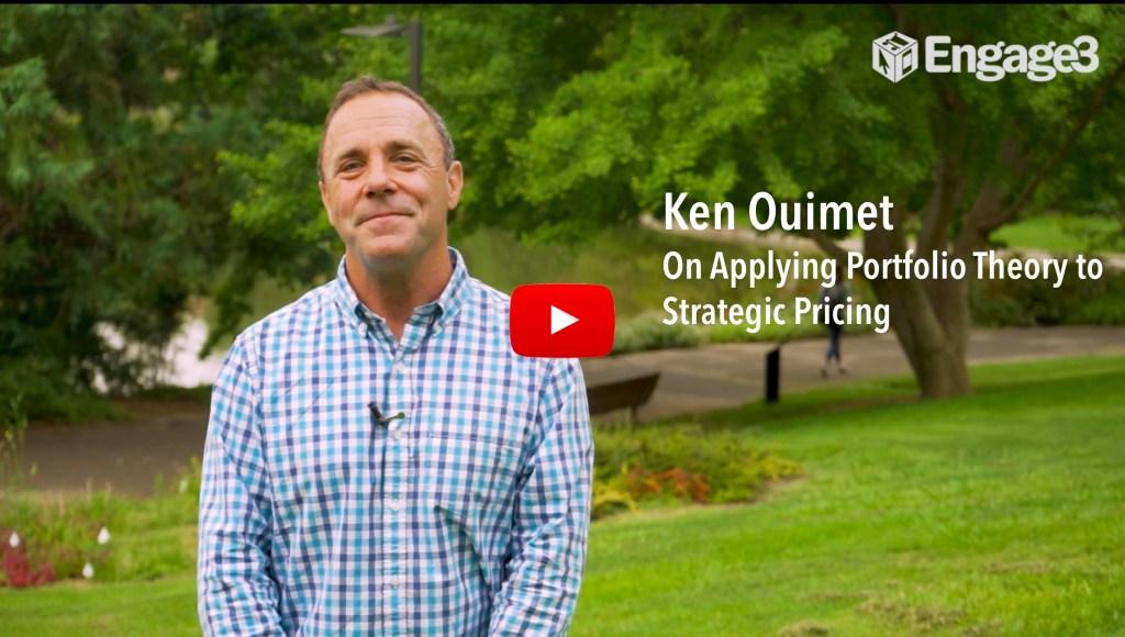 Ken Ouimet on applying portfolio theory to strategic pricing