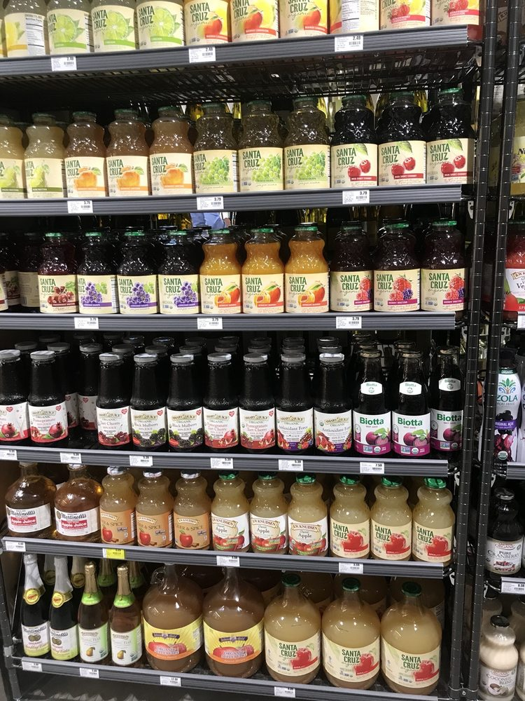 Juice selection