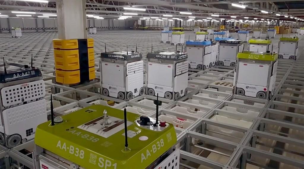 Ocado Warehouse
