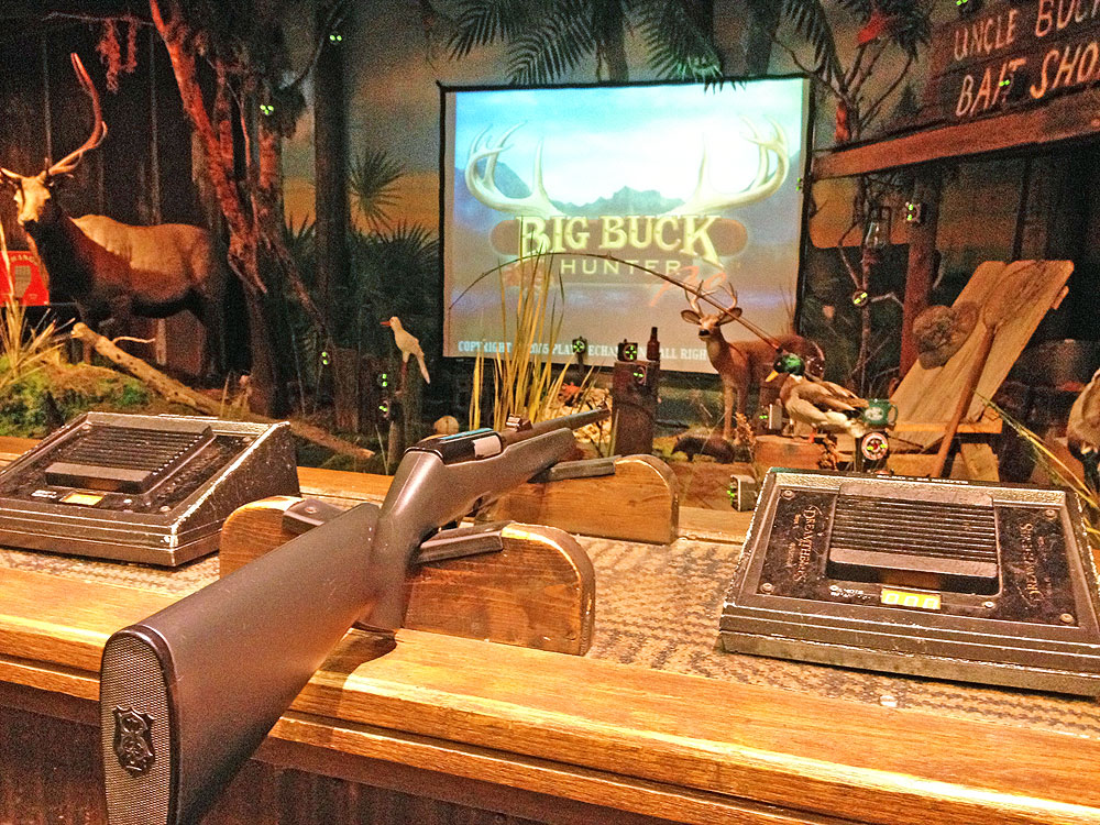 Shooting Gallery at Bass Pro