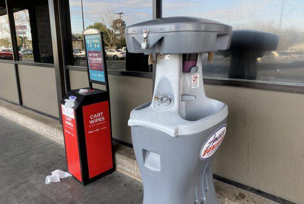 raleys wash stations COVID