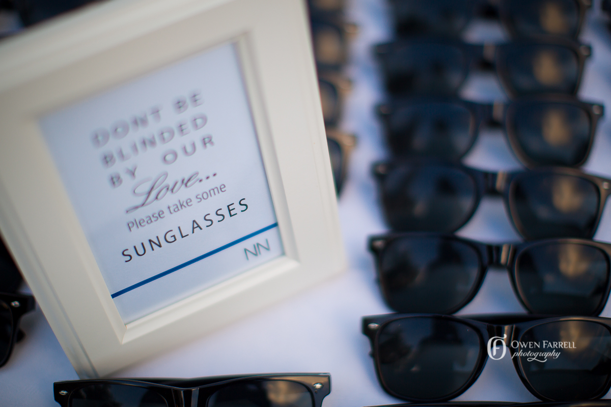 Frames are so useful and such a nice way to present information. Owen Farrell Photography. Styling Andalucia Weddings