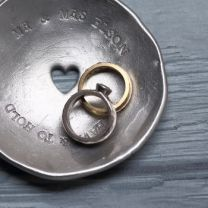 Love this ring plate, also by Beau & Chambers