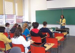 MIchelle teaching