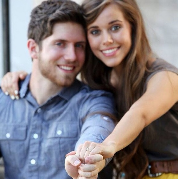 Jessa Duggars 075 Carat Princess Cut Diamond Ring The