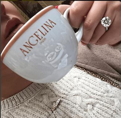 Adrienne Bailons Round Cut Diamond Ring