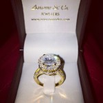 Erica Mena's 3 Carat Round Diamond Ring