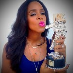 Kelly Rowland's Platinum 6 Carat Cushion Cut Diamond Ring